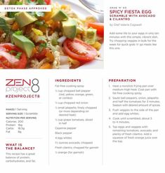 Spicy Fiesta Egg Zen Project 8 www.lustriousbeauty.jeunesseglobal.com