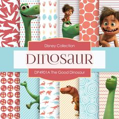 The Good Dinosaur Digital Paper DP4901A