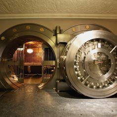 You could be boozing it up in an old bank vault or eating chicken in a humidor.