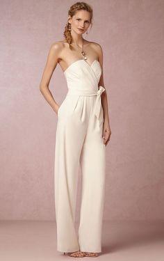 a160e53305d macacão calças noiva vestido de noiva moda fashion Wedding Pants