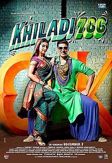 Khiladi 786 - action farce about a family of con-cops who are unable to find a bride willing to marry their hero of a son, who single handedly thrashes thugs at supersonic speed, until a wedding-fixer takes on the challenge & matches him with the sister of Mumbai's wanted don; she turns out to be equally psycho & in love with a part-time-prisoner.
