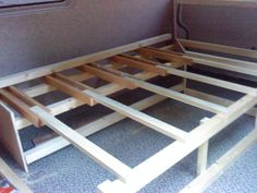 Side mounted bed solutions - Page 3 - VW T4 Forum - VW T5 Forum