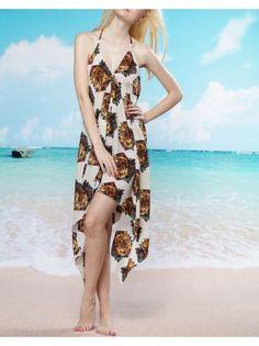 922ce3d1e25a2 2013 New Halter Swimsuit essential tuxedo bohemian beach dress