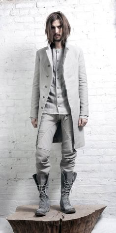 InAisce Fall 2011 (Have no idea who this model is, but love the outfit and love him!)