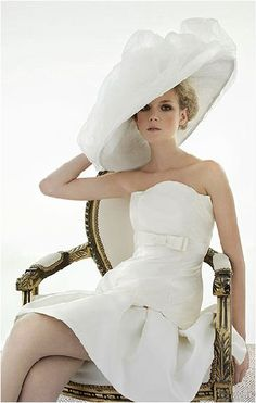Southern Charm / karen cox. oh, the hat!! ♥