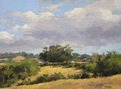 summer afternoon loleta by Jim McVicker Oil ~ 12 x 16