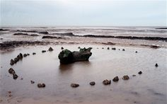 Seahenge, an early Bronze age structure on the coast of Norfolk, overlooks the ancient world of Doggerland