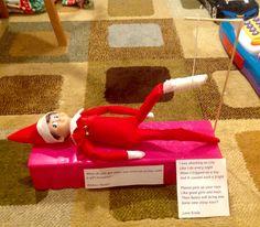 Broken Leg Elf