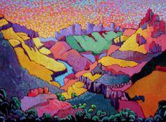 Artist Claudia Hartley ~ Salt River Canyon