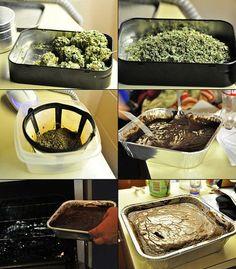 How To Make Weed Cake || http://www.thestonerscookbook.com/recipe/chocolate-cannabis-cake