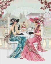 ART DECO LADIES - CROSS STITCH CHART