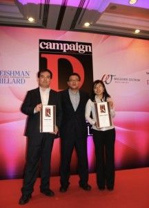 BlueFocus claims two awards at Campaign Asia Pacific's PR Awards