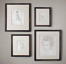 Black & Gold Gallery Frames