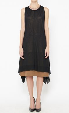 Fendi Black And Copper Dress