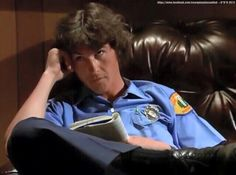 Chet: Don't you want to hear the rest of my story? Johnny: …… Chet: Ok…I guess you're busy. 1970s Tv Shows, Old Tv Shows, Randolph Mantooth, Paul Michael Glaser, David Soul, Back In The Day, Firefighter, Favorite Tv Shows, Tv Series