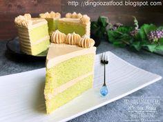 Miki s Food Archives Moist Pandan Sponge Cake With Salted Gula Melaka Buttercream Frosting Pandan Layer Cake, Pandan Chiffon Cake, Baking Tins, Baking Recipes, Ondeh Ondeh Cake Recipe, Ogura Cake, Sponge Cake Recipes, Asian Desserts, Fancy Desserts