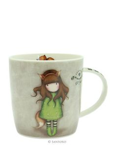 Gorjuss Mug in a Gift Box - The Fox