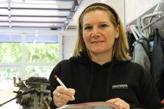 Raquel Cadenas, Parts Department