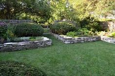 sloping gardens - Google Search