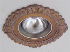 """Victorian 5"""" Recessed Light Medallion by Beaux-Artes on HomePortfolio"""