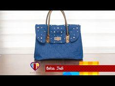 Bolsa de tecido Johanne - Maria Adna Ateliê - Cursos e aulas de bolsas de tecido e couro - YouTube