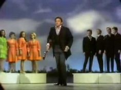 """Johnny Cash And the Statler Brothers - """"Daddy Sang Bass"""". The Statler Brothers knocked out some of the best melodies ever. Reminds me of hanging out with my grandparents, watching them on TV, and hearing grandma sing along."""