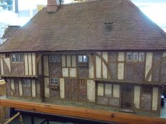 Wonderful estate sale dollhouse. Made in England. House is a early English style country house. | eBay!