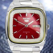 Discover a large selection of Seiko 5 watches on - the worldwide marketplace for luxury watches. Compare all Seiko 5 watches ✓ Buy safely & securely ✓ Seiko 5 Automatic, Automatic Watch, Armani Watches For Men, Men's Day, Dream Watches, Limited Edition Watches, Watch Companies, Seiko Watches, Vintage Watches