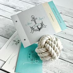 Invitations for your nautical themed wedding