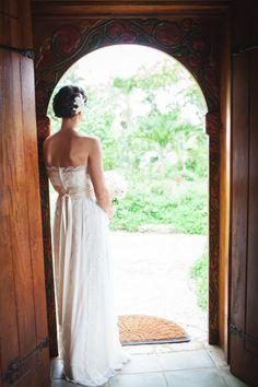 I'm not sure if it's in the water up here or what, but I am so anxious for summertime that I have to keep featuring beautiful beach weddings to get my dose of sunshine! Desiree Hartsock, Life Moments, Carpenter, Birch, Caribbean, One Shoulder Wedding Dress, Color Schemes, Summertime, Anna