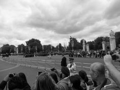 Il cambio della guardia a buckingham palace
