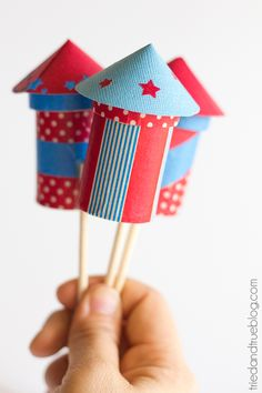 4th of July Party Favors – Firecrackers...how to...