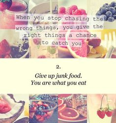 .Make one healthier choice today!