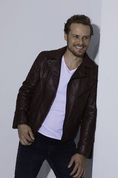 Sam Heughan Speaks to WWD About 'Outlander' Outlander Casting, Outlander Tv Series, Outlander 2016, Outlander Jamie Funny, Outlander Quotes, Sam Heughan Caitriona Balfe, Sam Heughan Outlander, Sam Heugan, Sam And Cait