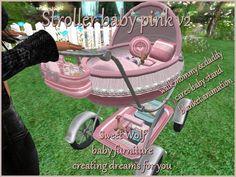 STROLLER BABY PINK V2