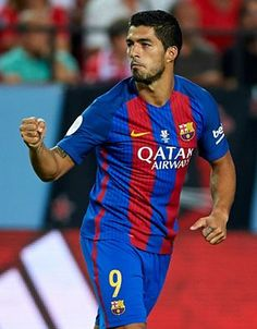Luis Suarez (85 goals in 97 outings) has now scored in every major competition for FC Barcelona. #luissuarez #fcbarcelona #laliga