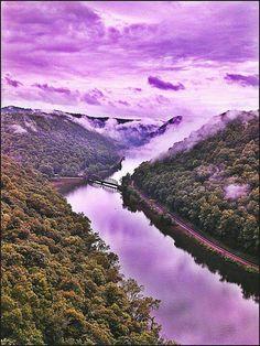 Almost heaven, West Virginia... Cheat Lake , WV