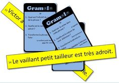 Gramolo : jeu de révision de grammaire en classe entière French Class, Cycle 3, Ontario Curriculum, Language Study, Interactive Notebooks, Grammar, Spelling, Literacy, French Nails