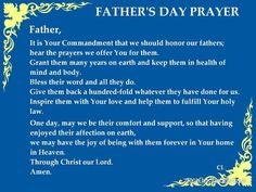 Image result for Thanksgiving prayer on Father's Day