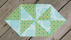 Candy Pinwheel Quilt Blocks