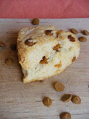 Cinnamon chip scone