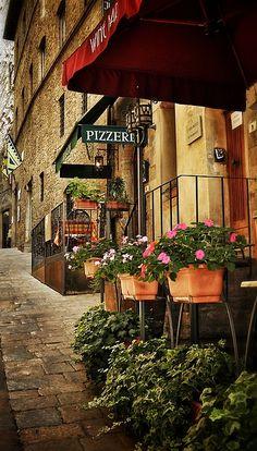 Framed Wall Art, Framed Prints, Canvas Prints, Art Prints, La Trattoria, Patio Windows, Tuscany Italy, Fine Art America, The Good Place