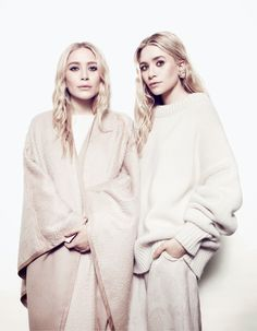 NET-A-PORTER'S THE EDIT MAGAZINE: MARY-KATE OLSEN AND ASHLEY OLSEN | The Trend Diaries - Latest Celebrity Style, Fashion, and Beauty Trends - Street Style and Red Carpet