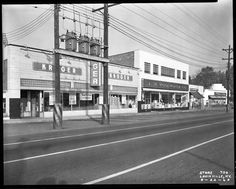 Preston Highway, near Eastern Parkway, 22 August 1963. University of Louisville Photographic Archives
