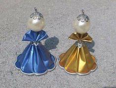 CZ Webmail :: Říkali jsme si, že by se vám těchto 18 pinů mohlo líbit. Christmas Makes, Christmas Crafts For Kids, Xmas Crafts, Christmas Angels, Christmas Diy, Christmas Ornaments, Recycled Jewelry, Love Craft, Diy Arts And Crafts