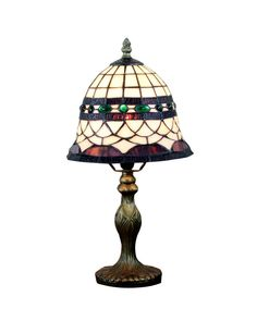 Tiffany Luxury Beside Table Lamps Fixture