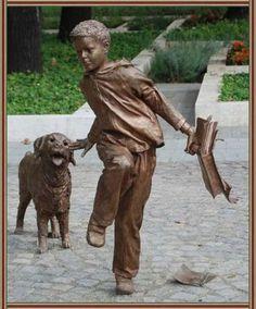 HUNGARIAN local attractions public sculptures - irodalom.lapunk.hu