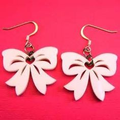 Funky Unique bow Earrings - Bing Images