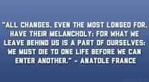 Moving on. Anatole France.