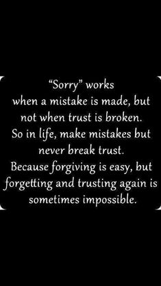 So true! Not wanting the same relationship with someone after trust is broken has nothing to do with not forgiving, judging or holding a grudge. It's protecting yourself and knowing what is best for you!!